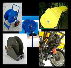 CUSTOM-MADE STANDARD HOSE-REELS